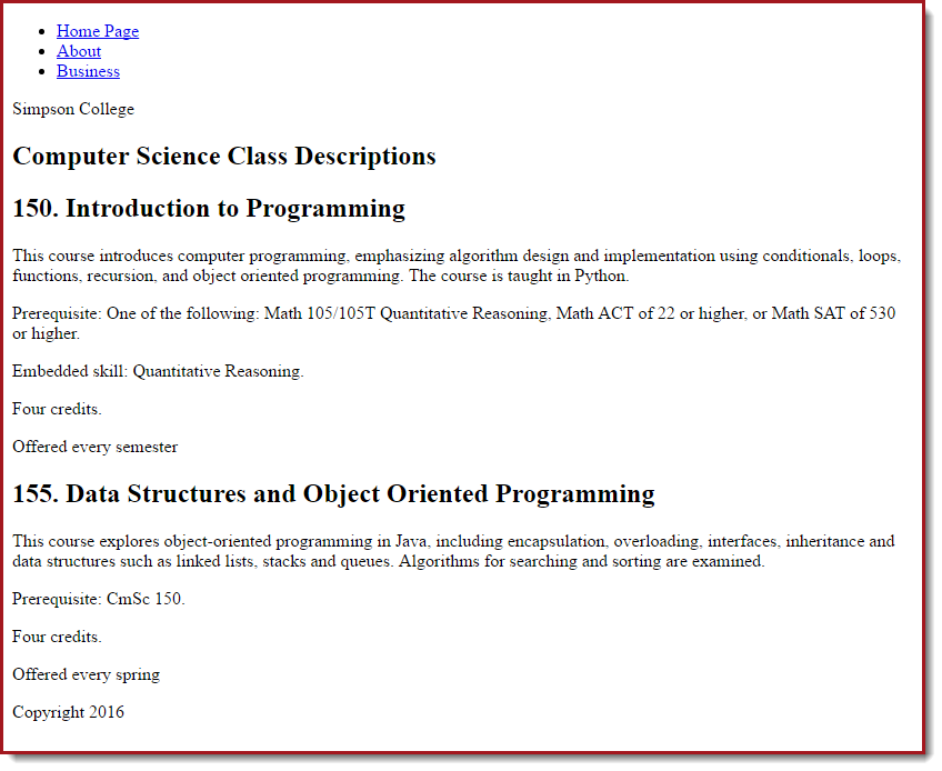 4 3  CSS Tutorial — Web Development 2018-2019 documentation